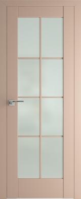 101U Капучино Матовое стекло (экошпон)