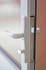 Дымонепроницаемая алюминиевая дверь ДВ5Д(Д1) А (О/Ч)Г Л(П)