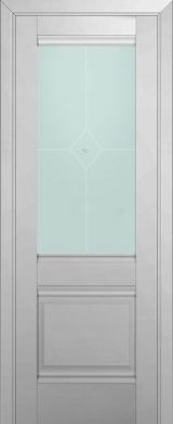 2U Манхеттен Матовое стекло (экошпон)