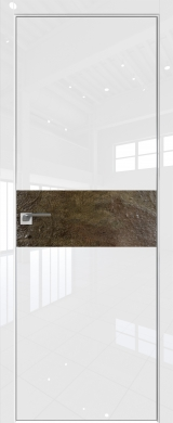 4VG Белый глянец камень Dark Spruce (экошпон глянец)