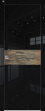 4VG Черный глянец шпон Эбен (экошпон глянец)