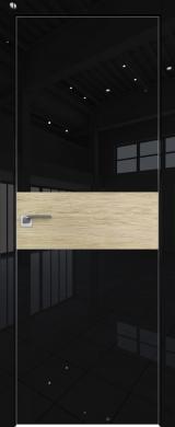 4VG Черный глянец шпон Светлый дуб (экошпон глянец)