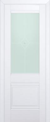 2U Аляска Матовое стекло (экошпон)
