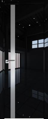 6LK Черный люкс (экошпон глянец)