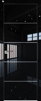 7LK Черный люкс (экошпон глянец)
